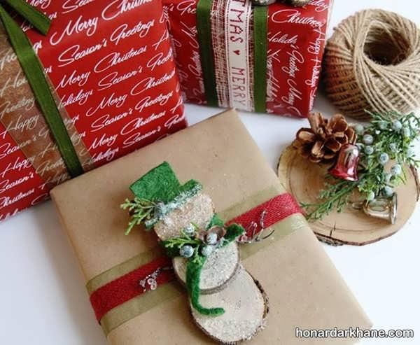 انواع سبک های خلاقانه دیزاین کادو کریسمس