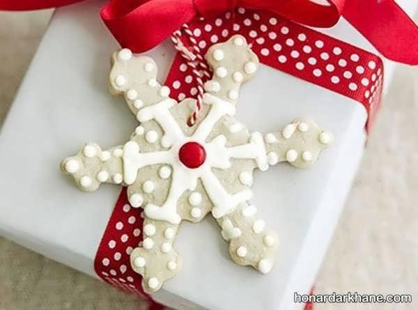 انواع کادو پیچ کردن هدیه کریسمس