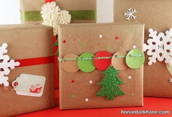 مدل های شیک تزیینات هدیه کریسمس