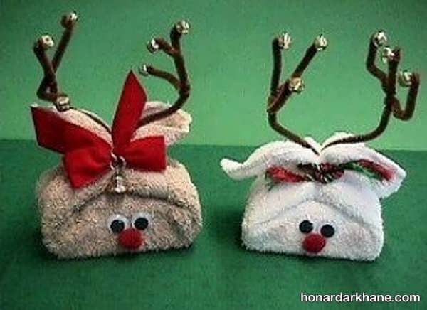 انواع مدل های جالب کادو پیچ کردن هدیه کریسمس