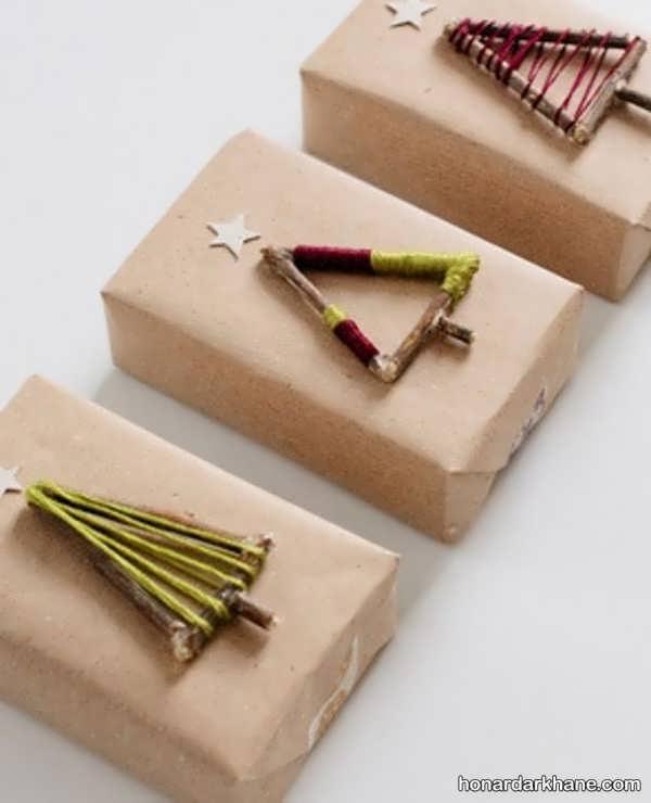 ایده های جذاب دیزاین کادو کریسمس
