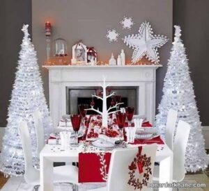 انواع سبک های جذاب دیزاین میز کریسمس