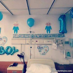 تزیین اتاق بیمارستان به سبک های جالب