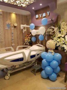 مدل های جدید و جالب تزیینات اتاق بیمارستان