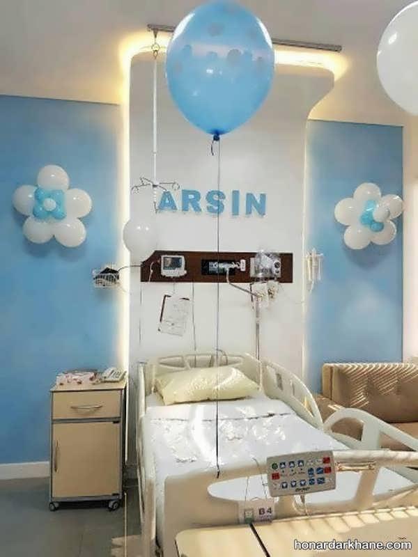 انواع ایده های جدید دیزاین اتاق بیمارستان