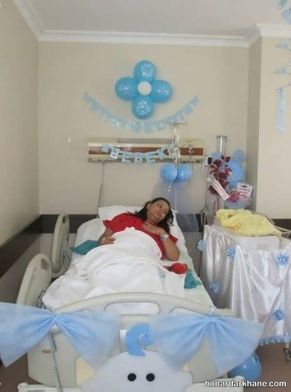 انواع آراستن اتاق بیمارستان