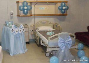 انواع آراستن اتاق بیمارستان به سبک های مختلف
