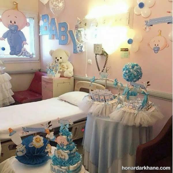 انواع دیزاین شیک و خاص اتاق بیمارستان