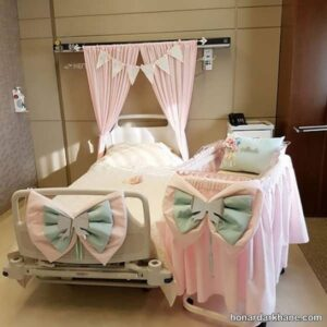 انواع تزیینات شیک و جذاب اتاق بیمارستان