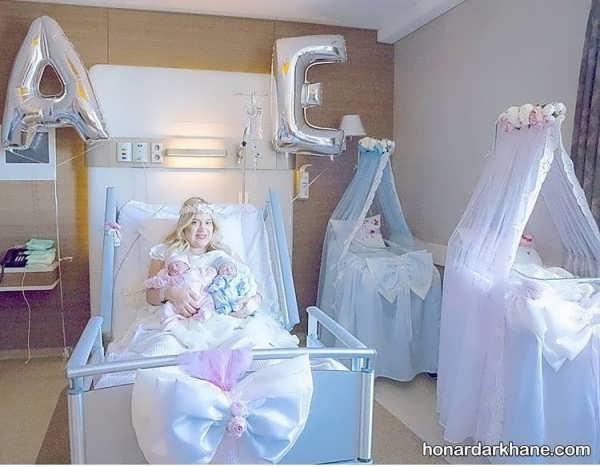مدل های خلاقانه زیبا سازی اتاق بیمارستان