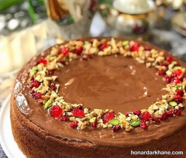 طرز تهیه کیک گردویی با طعمی خوشمزه و خوش طعم