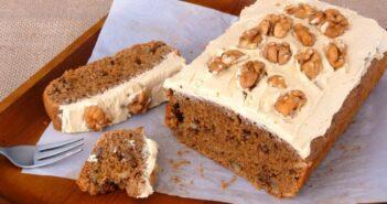 طرز تهیه کیک گردویی با طعمی خوشمزه