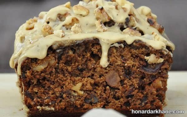 روش پخت کیک گردویی خوش طعم