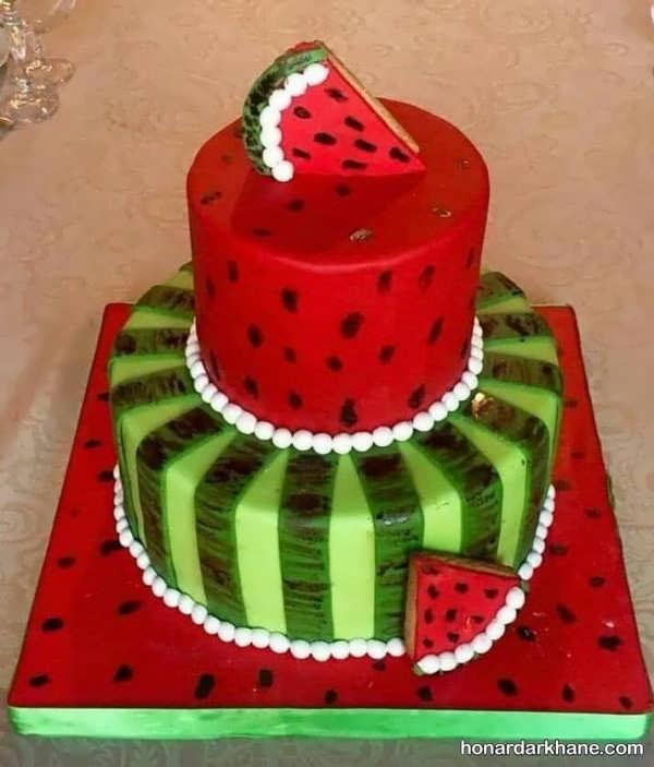 دستور تهیه کیک هندوانه ای با طعمی بی نظیر