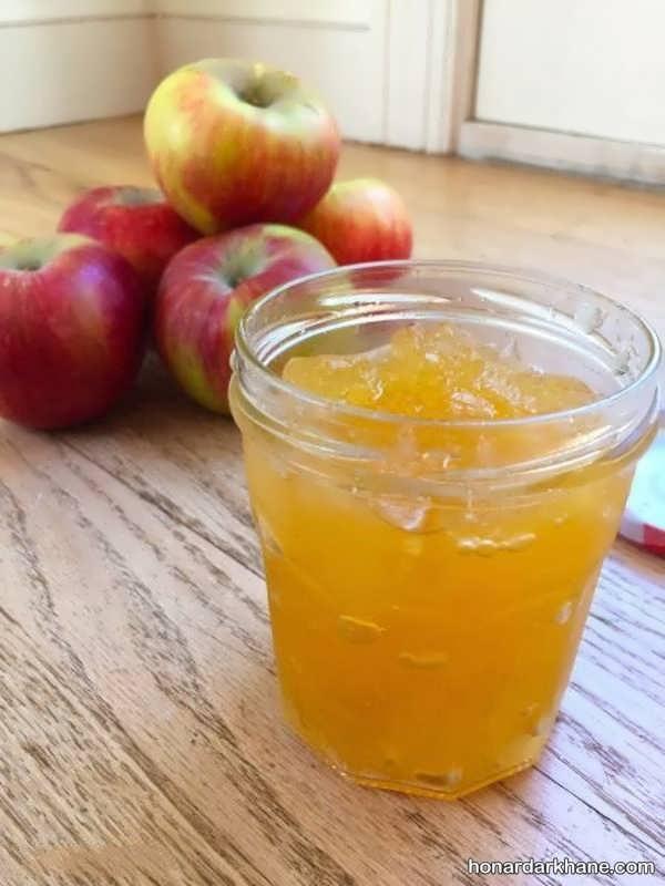 طرز تهیه مارمالاد سیب با طعمی دلنشین