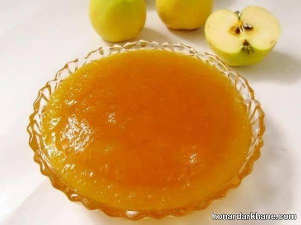 طریقه درست کردن مارمالاد سیب