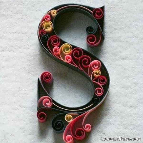 شیوه ساختن استند حروف و اعداد