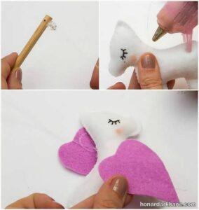 نحوه درست کردن عروسک یونیکورن