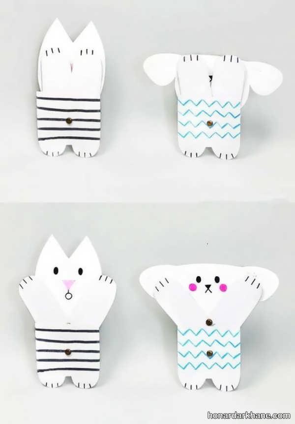 شیوه درست کردن عروسک متحرک در خانه