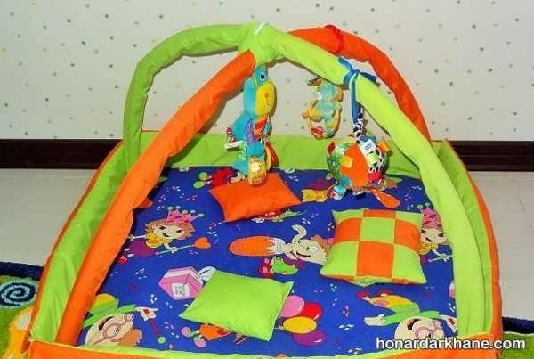 روش درست کردن تشک بازی کودک