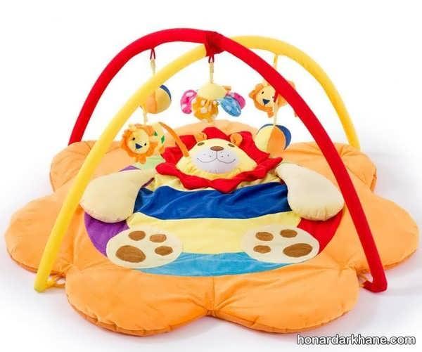 آموزش دوخت تشک بازی کودک