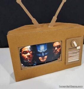 انواع مدل های جالب و جدید کاردستی تلویزیون