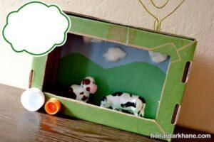 انواع هنردستی با جعبه کارتونی
