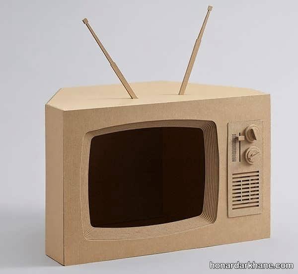 انواع هنردستی زیبا با طرح تلویزیون