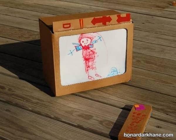مدل های جالب کارهنری به شکل تلویزیون
