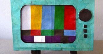 مدل های متنوع و خلاقانه کاردستی تلویزیون