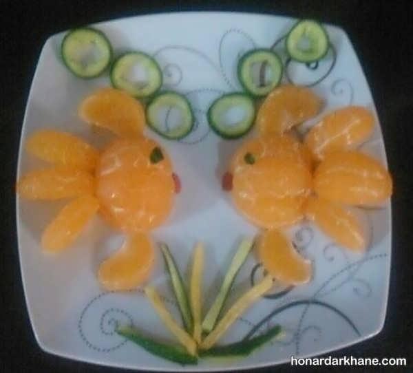 سبک های مختلف تزیین نارنگی