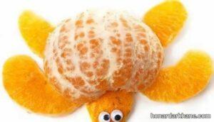 انواع میوه آرایی جالب با نارنگی