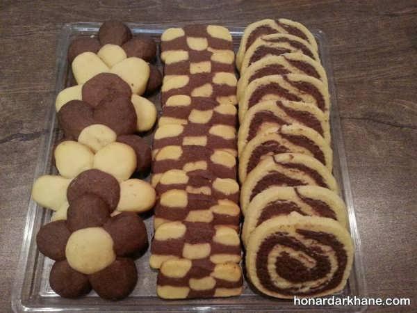 طرز تهیه شیرینی فانتزی در طعم های متفاوت برای عید