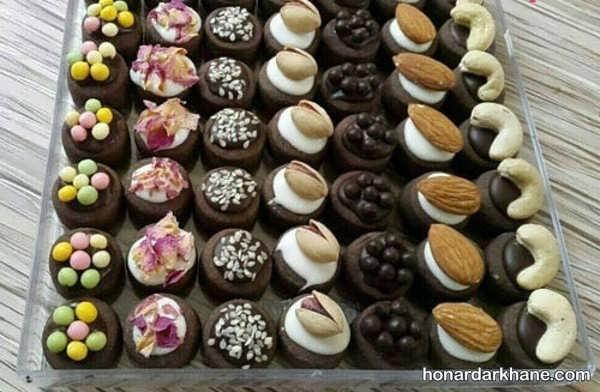 نحوه پخت شیرینی فانتزی برای عید