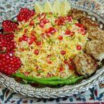 طرز تهیه انار پلو با طعمی لذیذ و خوشمزه
