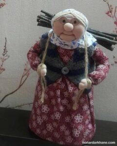 آموزش ساخت عروسک ننه سرما به روشی ساده