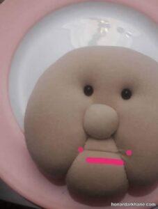 دوخت عروسک ننه سرما به روشی ساده
