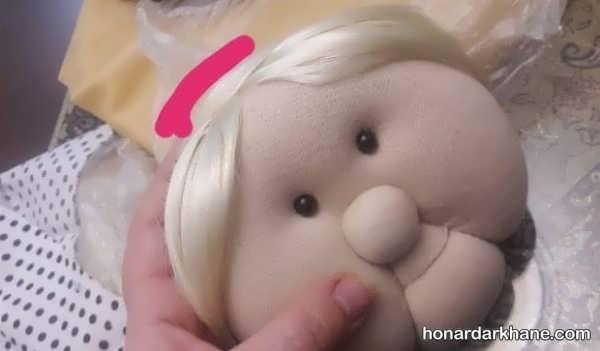 طریقه درست کردن عروسک ننه سرما