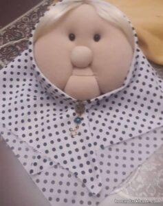 نحوه ساخت عروسک ننه سرما