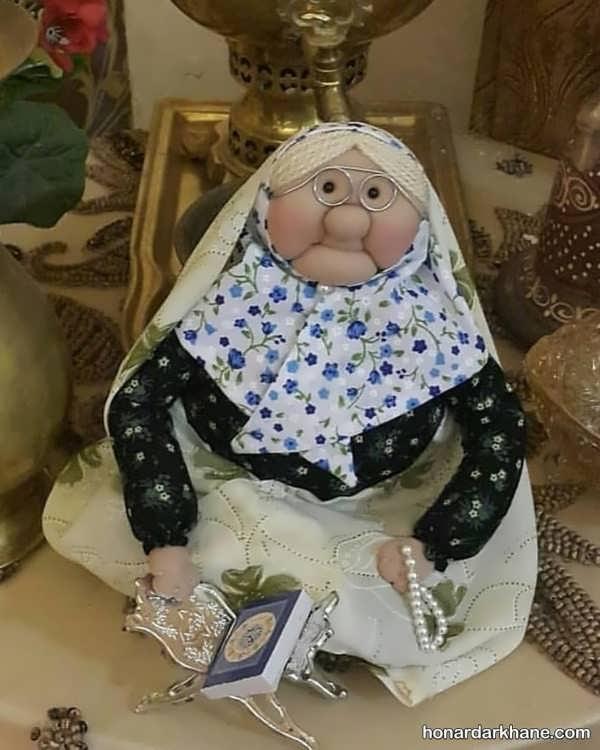 آموزش درست کردن عروسک ننه سرما