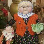 آموزش ساخت عروسک ننه سرما