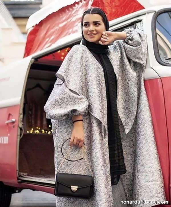 مدل های بلند و مجلسی مانتو برای عید