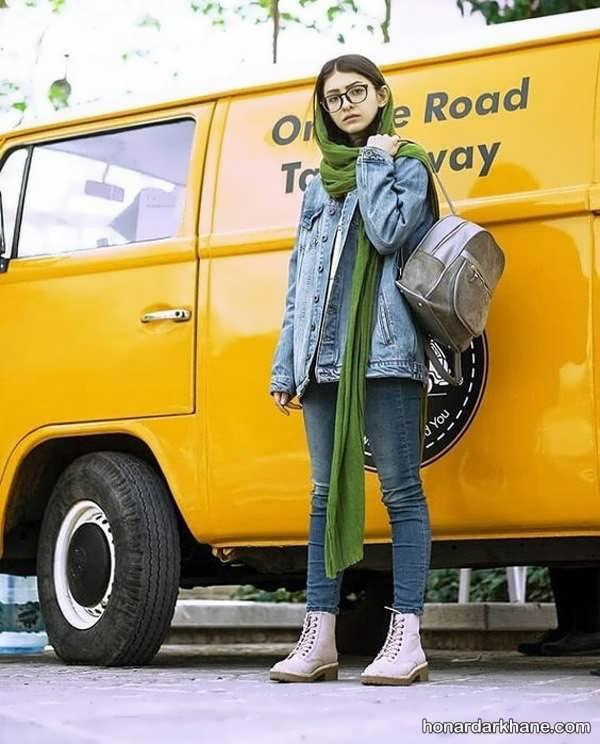 مدل های جدید سبک پوشش با مانتو لی