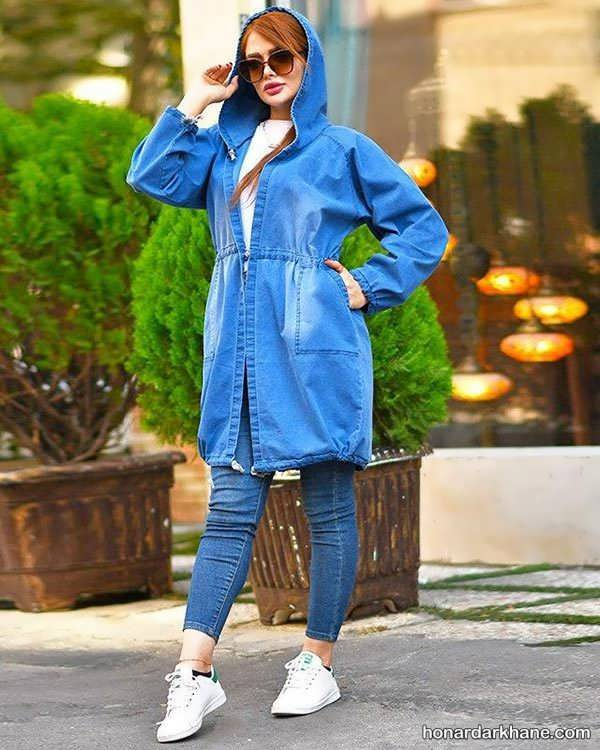 انواع سبک پوشش جذاب با مانتو لی