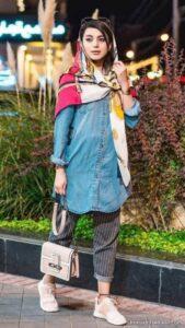 مدل های شیک و جذاب هماهنگ کردن لباس با مانتو لی