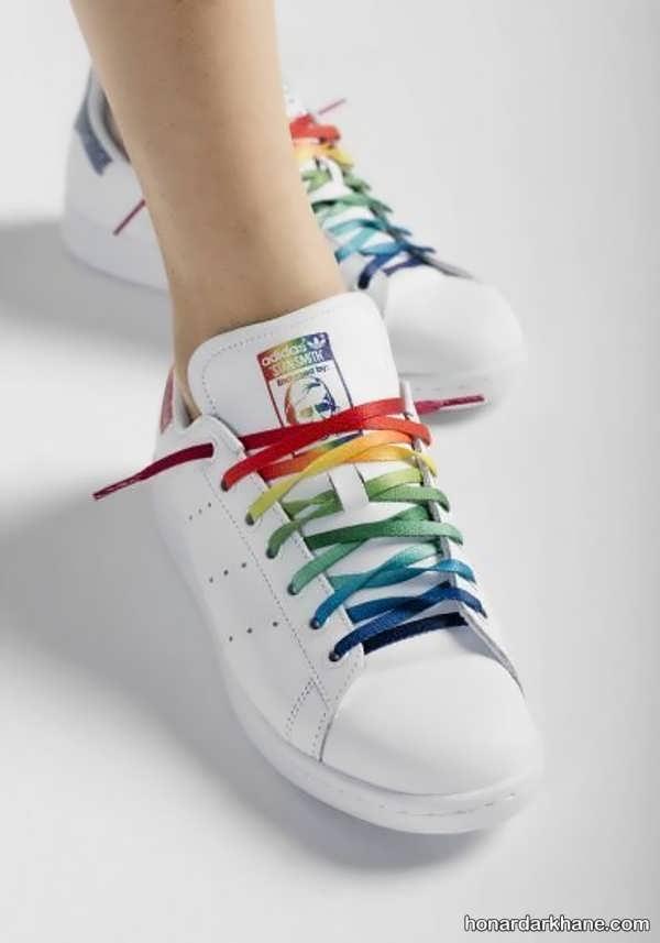 مدل های جالب گره زدن بند انواع کفش