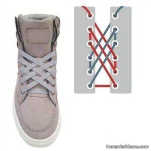 نحوه بستن بند انواع کفش