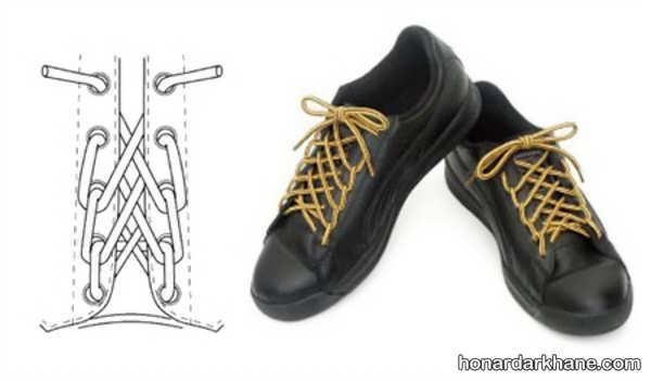 آموزش گره زدن بند انواع کفش