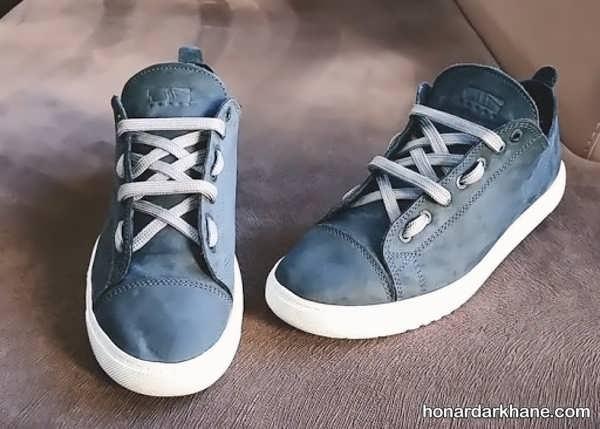 مدل های جالب بستن بند کفش
