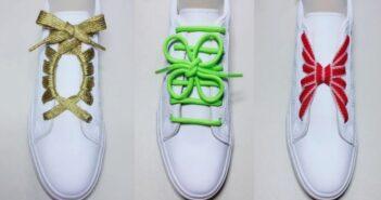 آموزش نحوه بستن بند کفش در مدل های مختلف